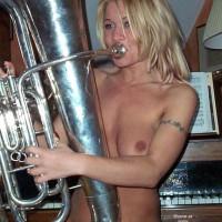 Blow Instrument - Blonde Hair, Girls