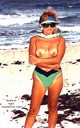 Pic #3 - Carmen at the Beach