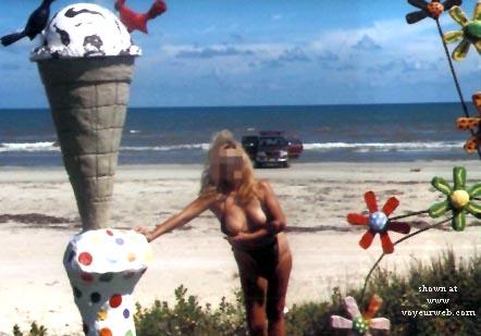 Pic #4 - Carmen at the Beach