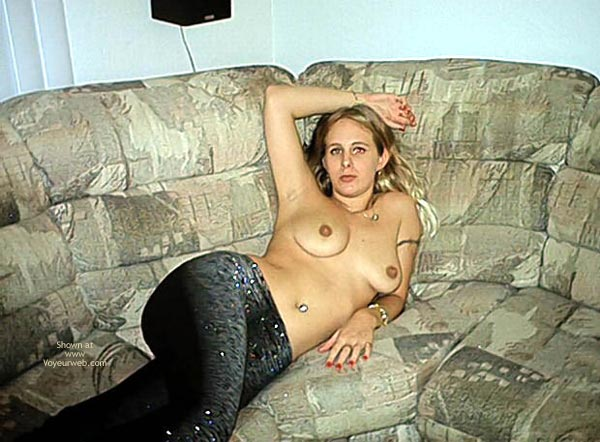 Pic #4 - Naked on my Couch