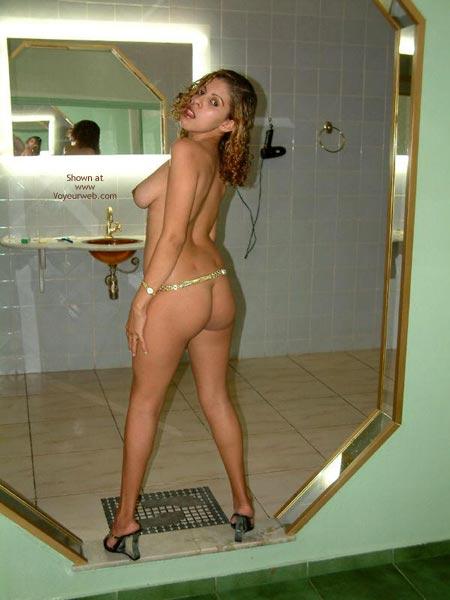 Pic #5 - 19 Y/O Brazilian Carla'S First Contri