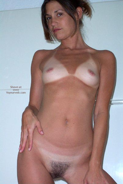 Pic #8 - Crazy Tanlines In The Shower- Shannon Part 2