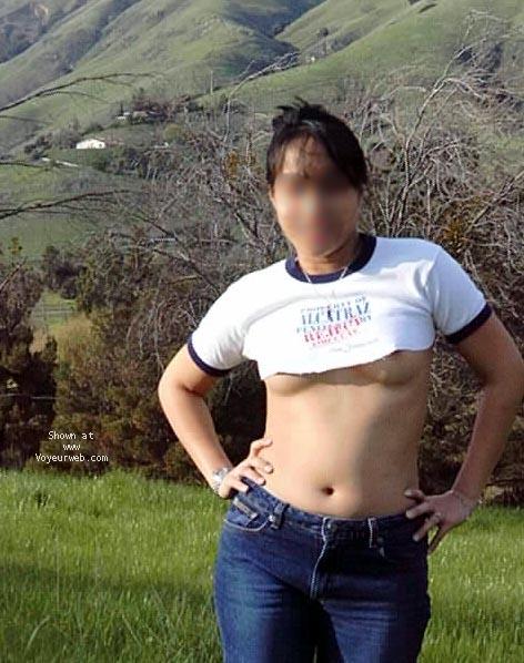 Pic #3 - Asian wife in Public (BLUR)