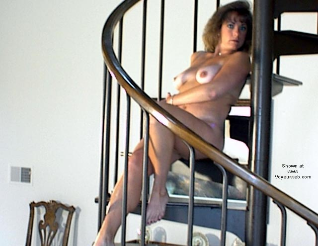 Pic #5 - Bonnie on the stairs