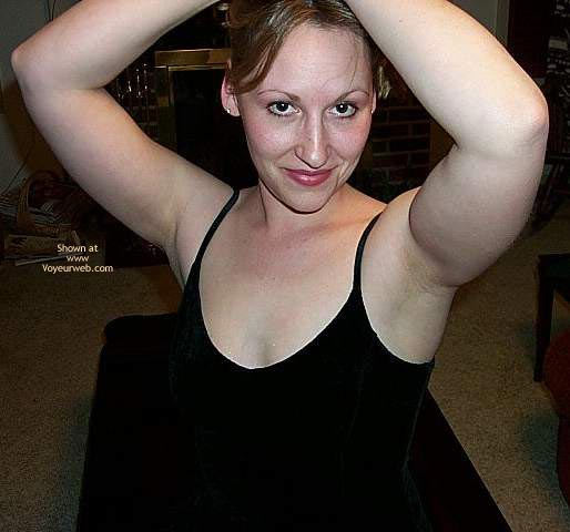 Pic #1 - Q In Her Little Black Dress...