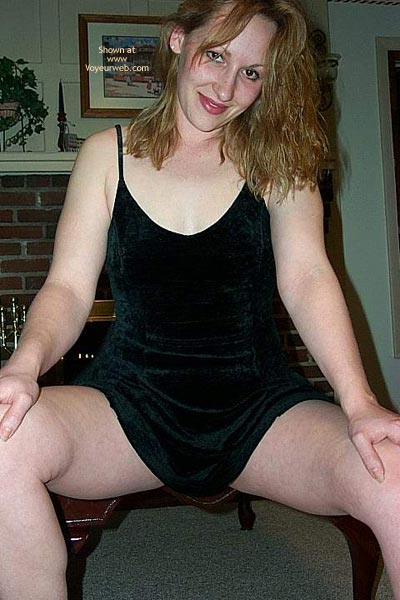 Pic #3 - Q In Her Little Black Dress...