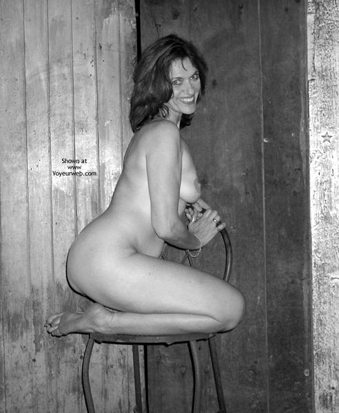 Pic #4 - Laila Naked In B&W
