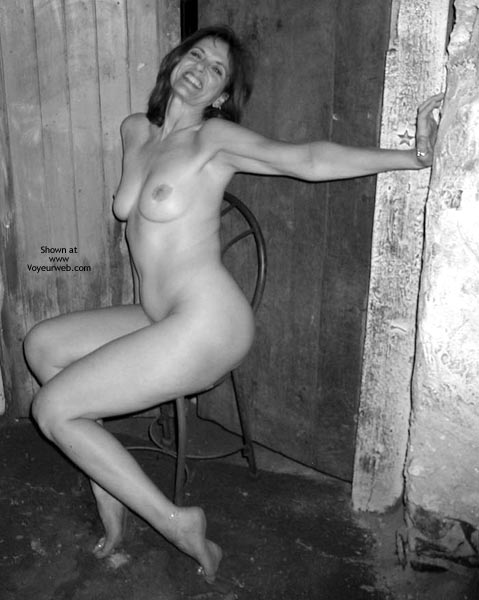 Pic #5 - Laila Naked In B&W