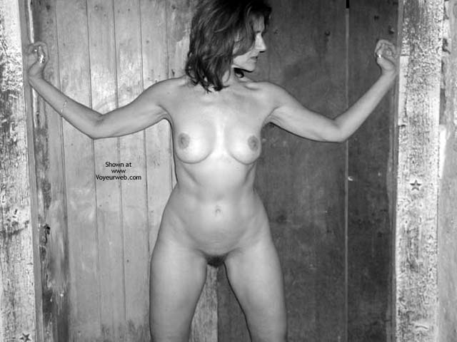 Pic #6 - Laila Naked In B&W