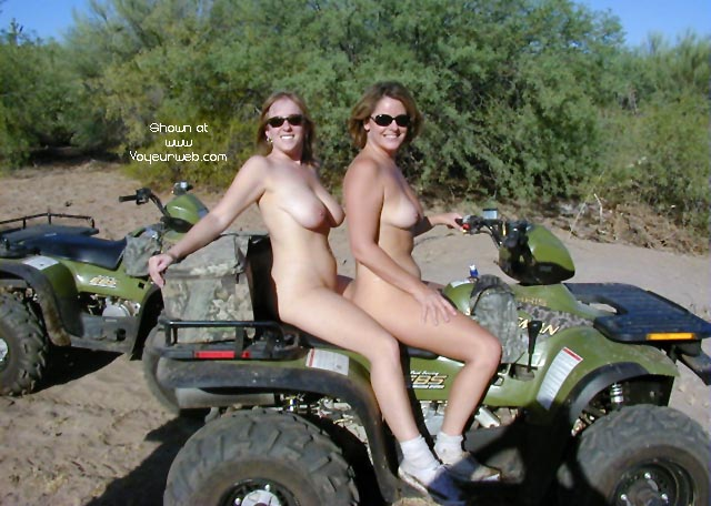 Pic #7 - Amy and Arizona J go for a ride