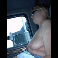 Rhonda Flashing Truckers
