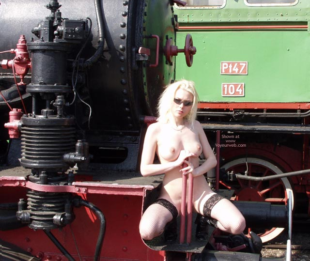Pic #5 - Monika And The Steam-Engines.