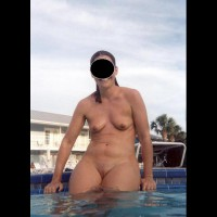 Wife In The Pool