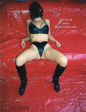 Pic #2 - NAJANA In Latex On Red