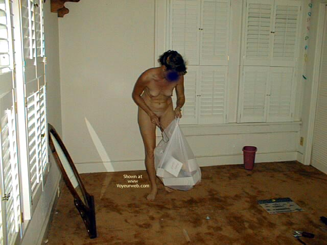 Pic #9 - Lacey Doing House Work