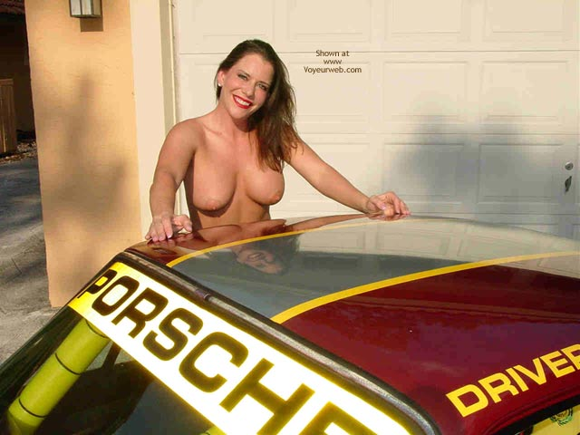 Pic #1 - Superlips And Her Porsche 1