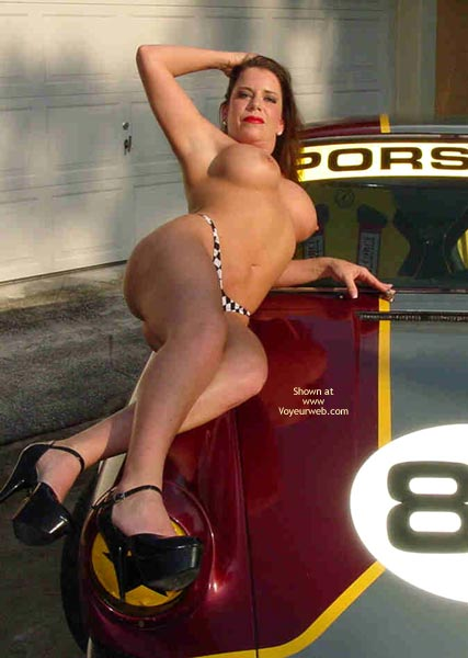 Pic #3 - Superlips And Her Porsche 1