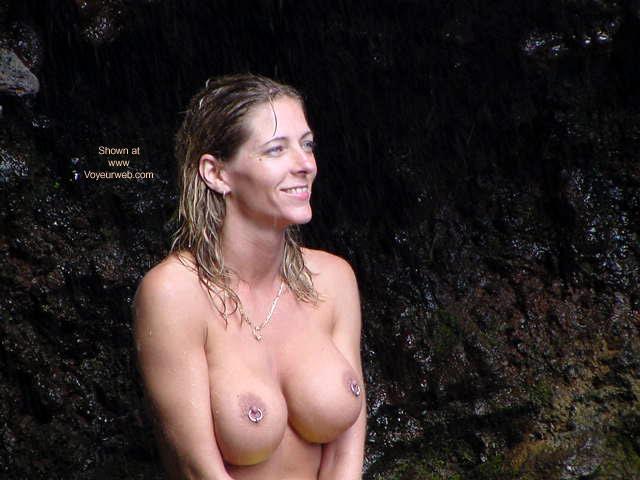 Pic #2 - Shell at Waimoka Falls