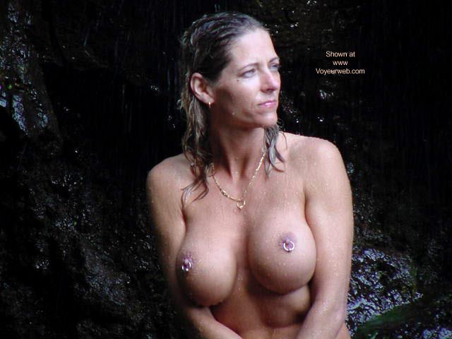 Pic #7 - Shell at Waimoka Falls