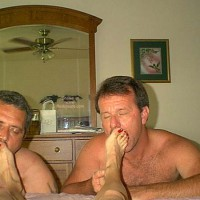 Sharing Wife's Toes 2