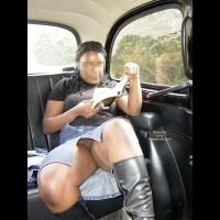 Camden Girl In A Taxi
