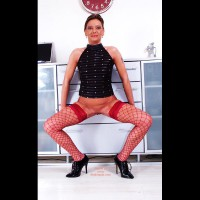 Susy Rocks Fishnets And High Heels