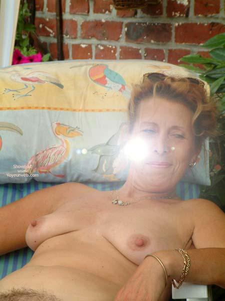 Pic #4 - My Wife Is 46 Yo (Relax In The Garden)