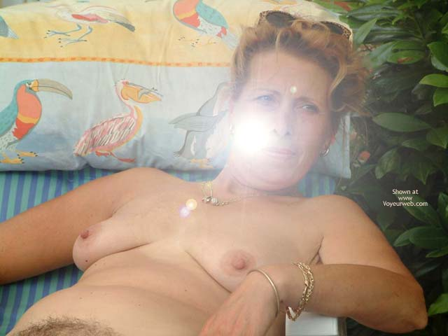 Pic #5 - My Wife Is 46 Yo (Relax In The Garden)