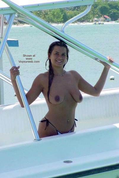 Pic #2 - Nikki Plays in The Tropical Sun