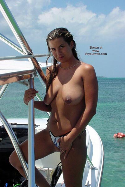 Pic #3 - Nikki Plays in The Tropical Sun