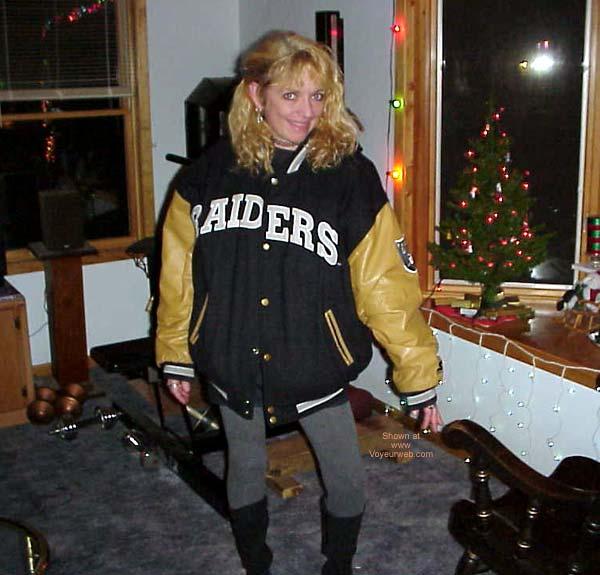 Pic #1 - She's a Raiders Fan in Sleepy Girl 6