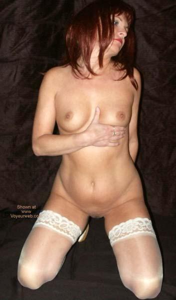 Pic #7 - Red Tonya in White 2