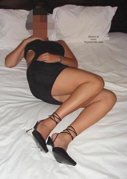 Pic #1 - Portuguese Body Hot In Black Dress