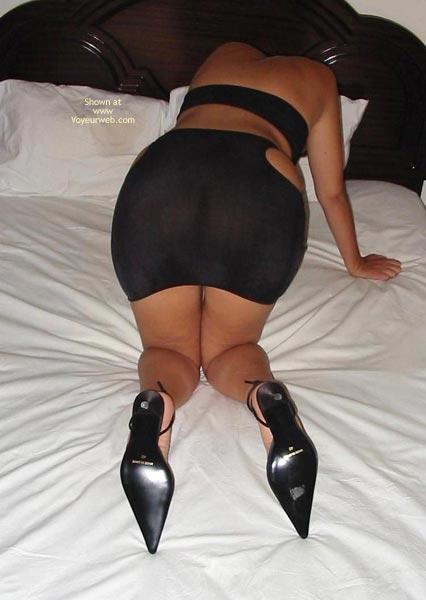 Pic #3 - Portuguese Body Hot In Black Dress