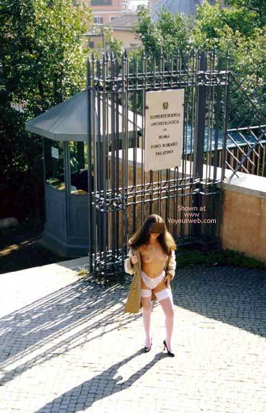 Pic #4 - Angela tra Foro Romano e Campidoglio