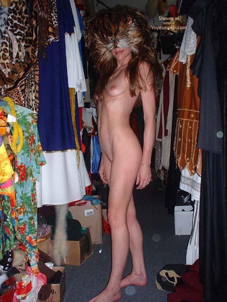 Pic #6 - Heide in a Costume Shop