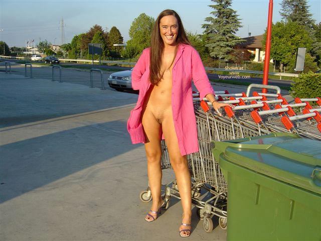 Pic #3 - C. With A Shopping Cart