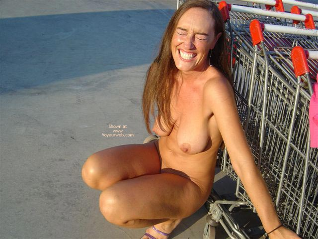Pic #6 - C. With A Shopping Cart