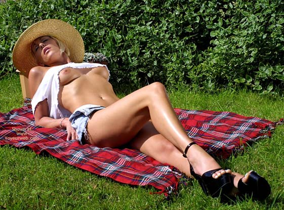 Pic #3 - Jan - Straw Hat In The Sun