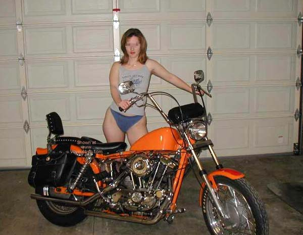 Pic #1 - Luv2bnude and The Harley
