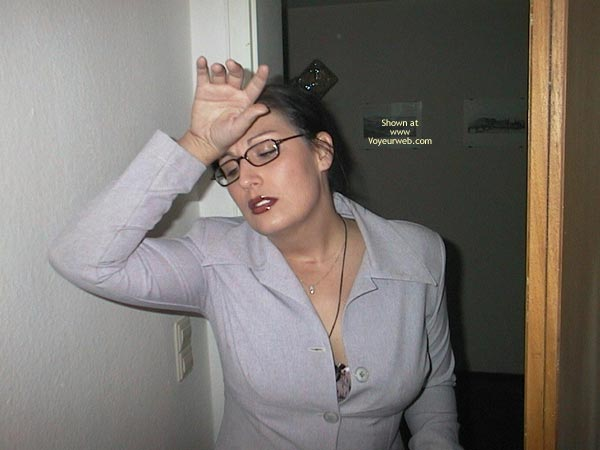 Pic #1 - Businesswoman Needs To Relax After A Hard Day