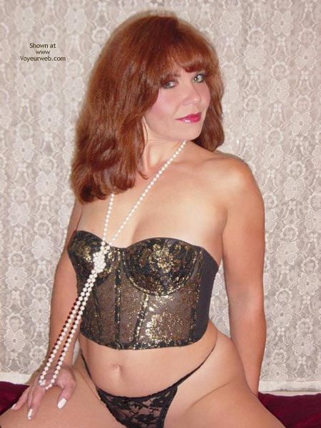 Pic #5 - Paige Pearls And Stockings