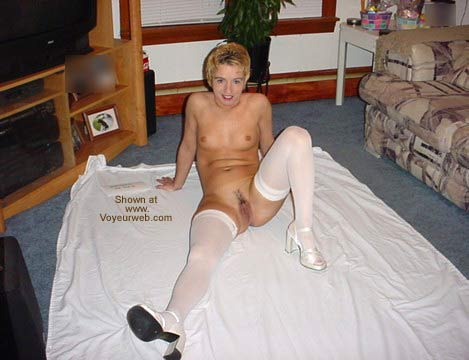 Pic #9 - Blazin1 and Her White Thigh Highs!!