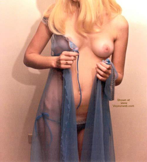 Pic #3 - Blondecutie in blue