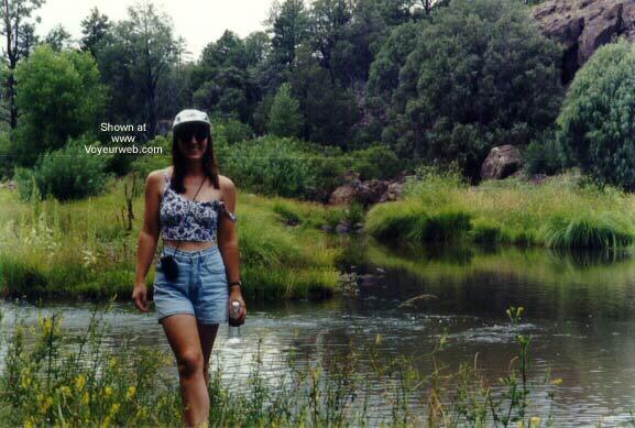 Pic #1 - Wife Hiking