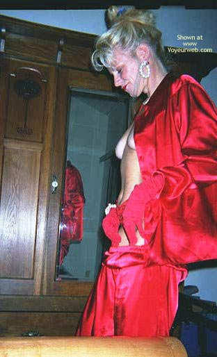 Pic #5 - Jeannie In Red