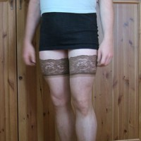 M* My First Cross Dressing Pictures