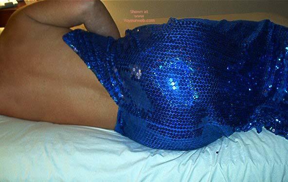 Pic #1 - Julie In Blue Sequins
