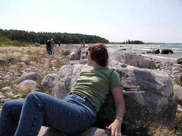 Pic #3 - Lisa Flashing in Michigan