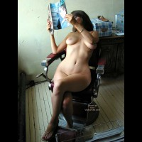 VW_Laura On a Barber's Chair